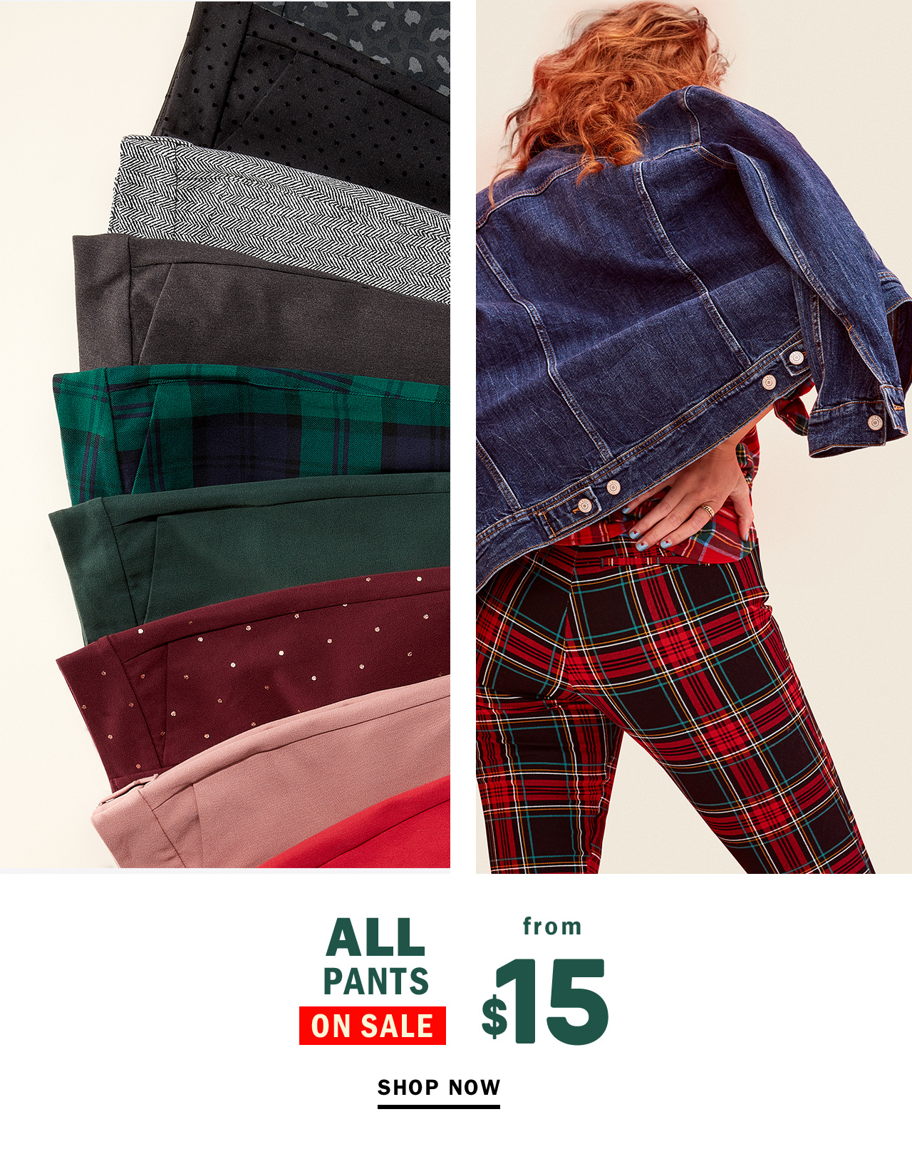 ALL PANTS ON SALE
