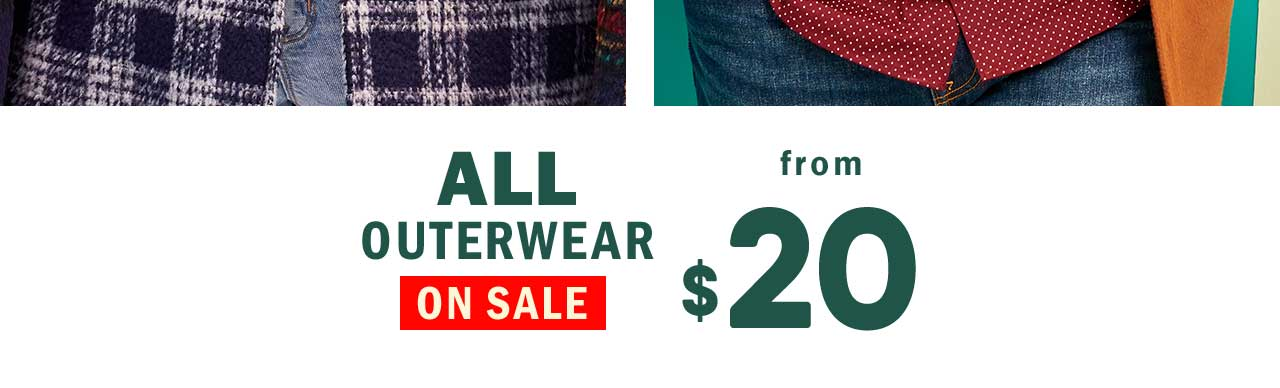 ALL OUTERWEAR ON SALE