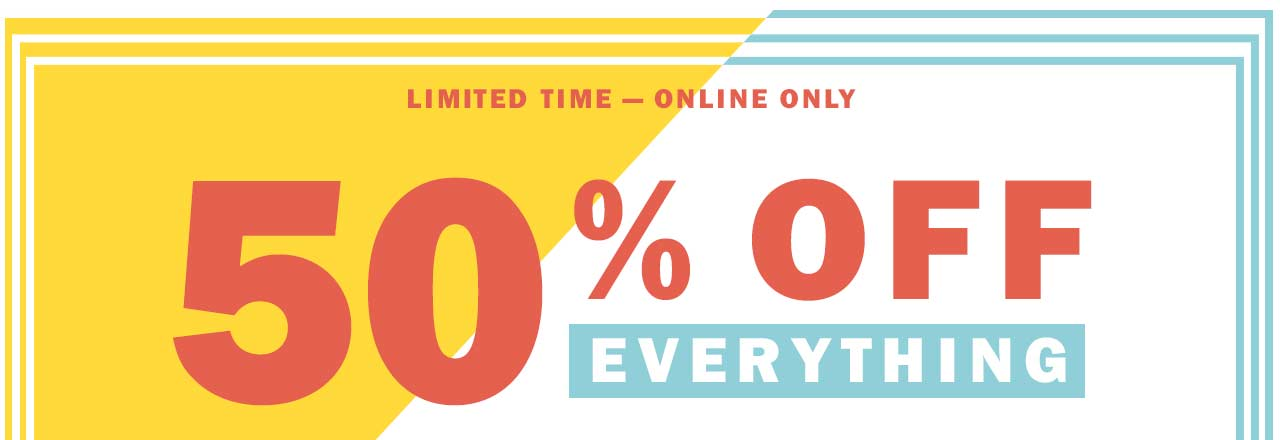 limited time - online only