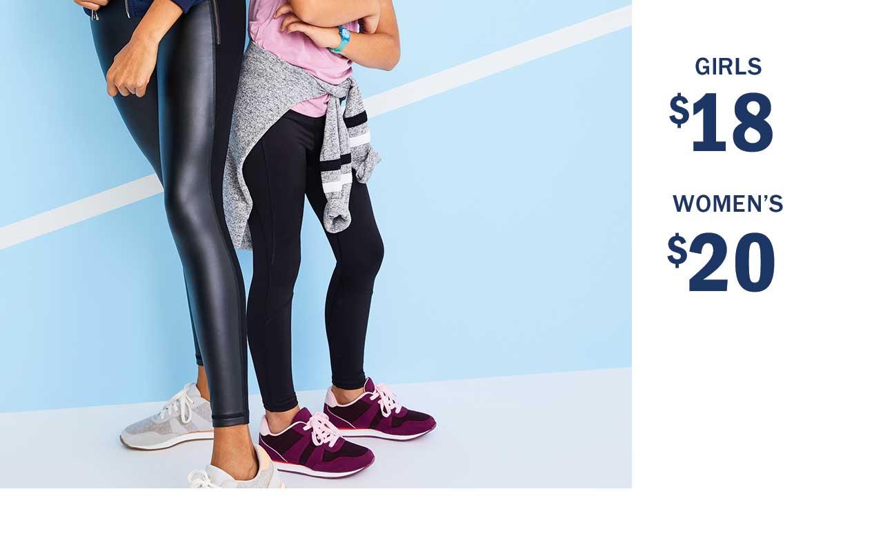 Girls $18