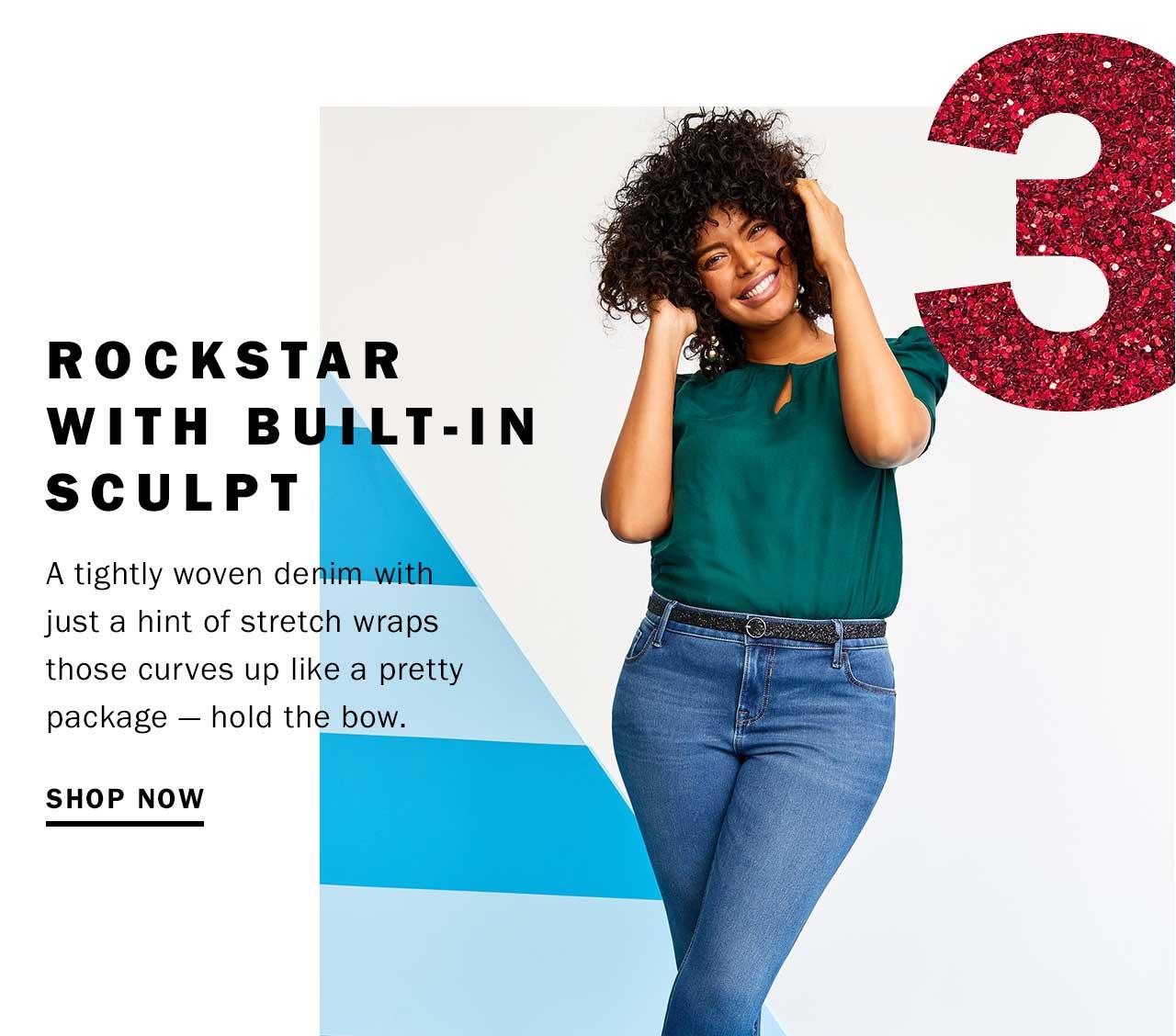 Rockstar with built-in sculpt