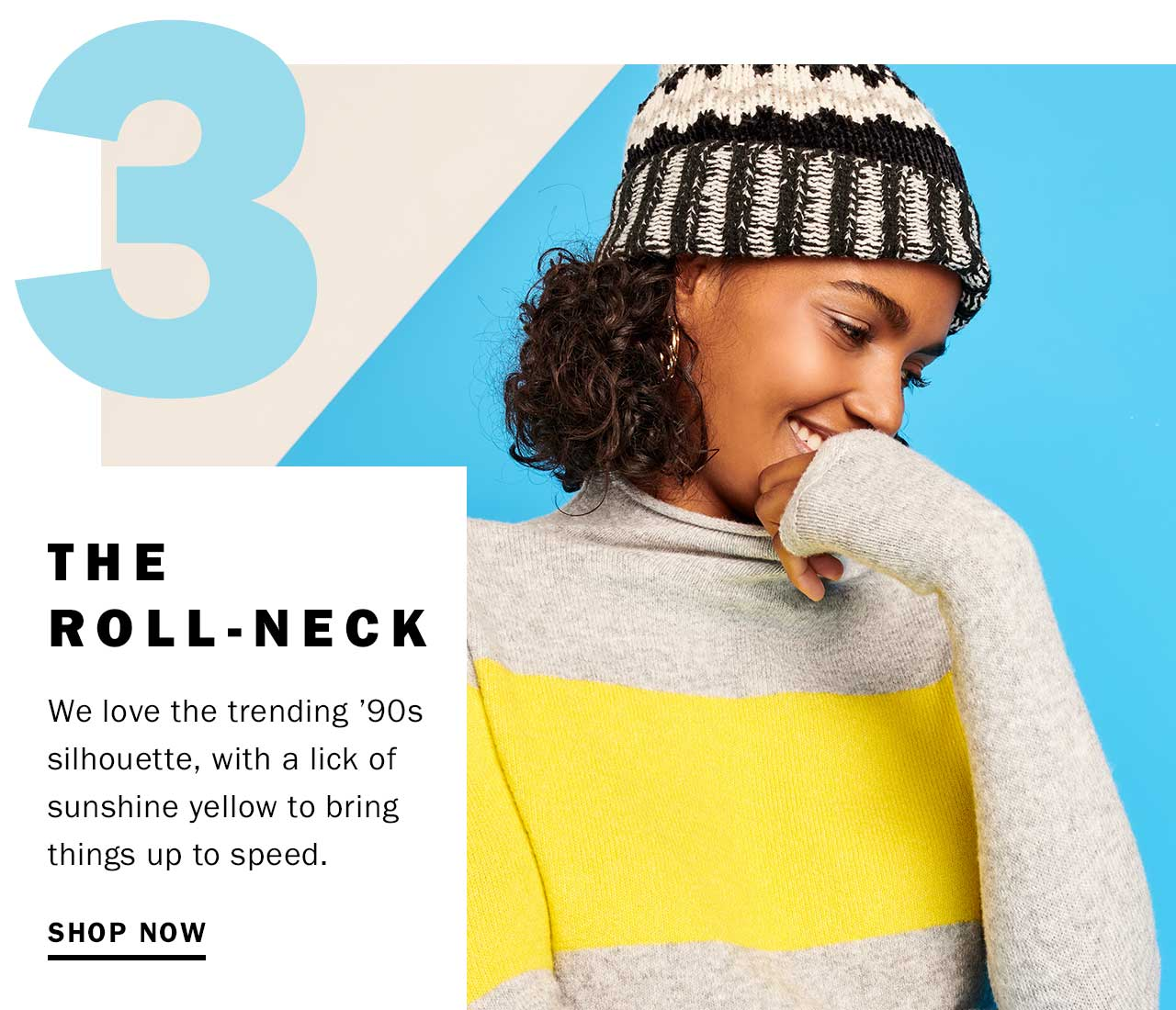 The roll-neck