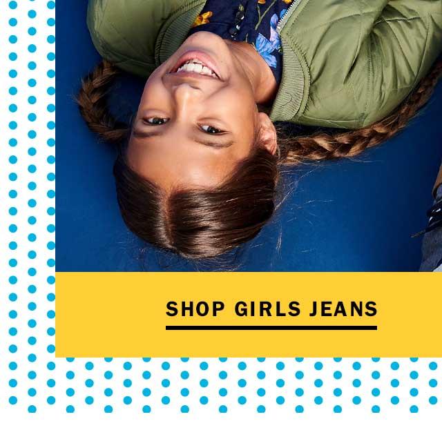 Shop girls jeans